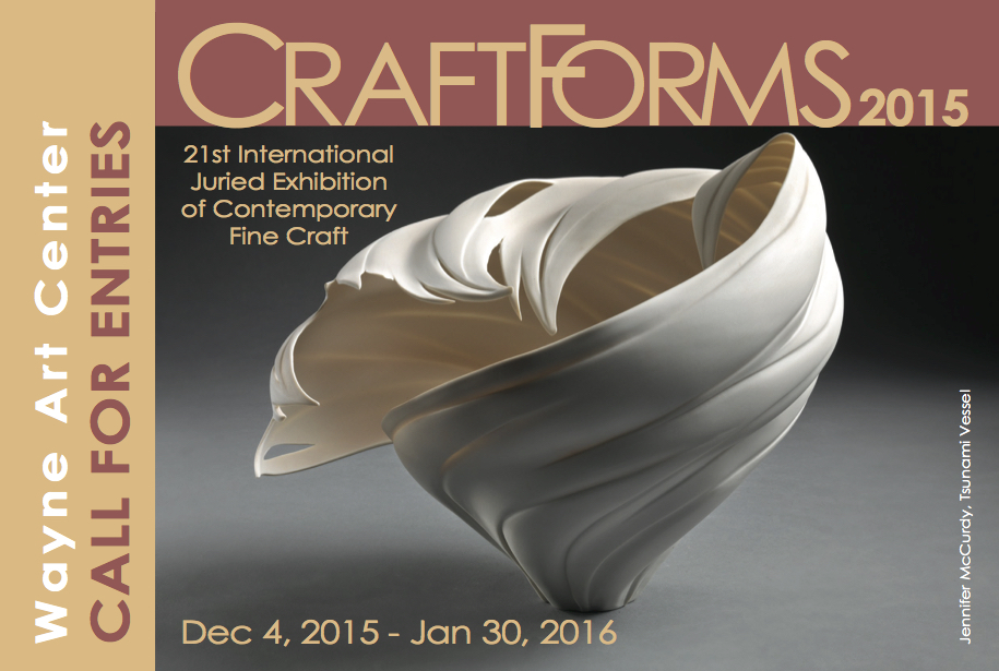 Craft forms 2015
