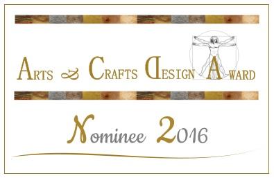 2016 Arts & Crafts Design award
