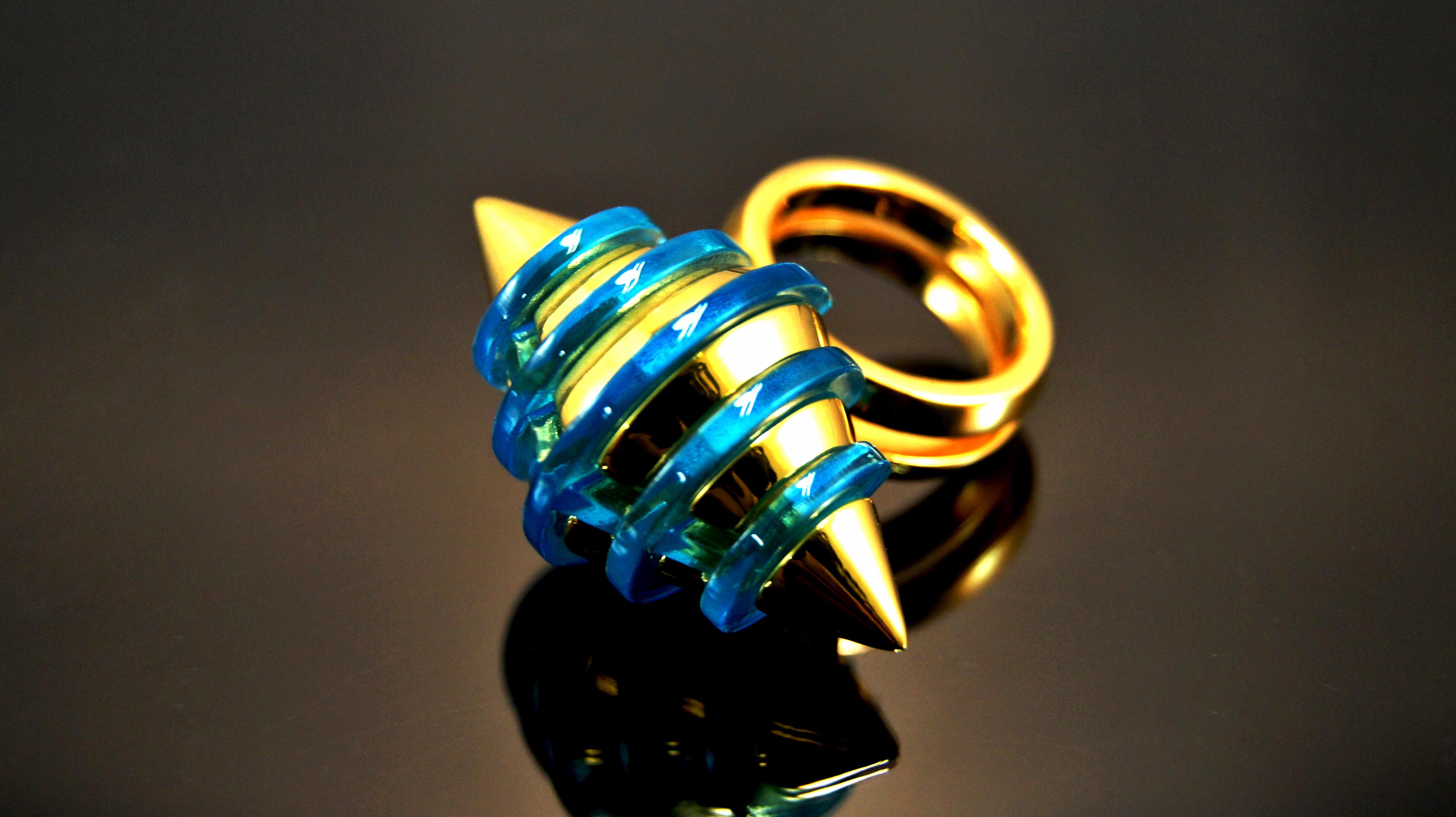 Blue prism ring