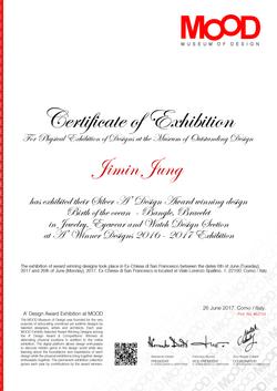 2017 Award Exhibition at MOOD