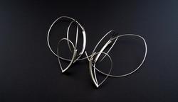 Silver lining earrings II