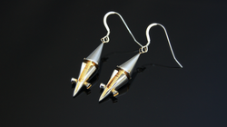 Lust solid earrings
