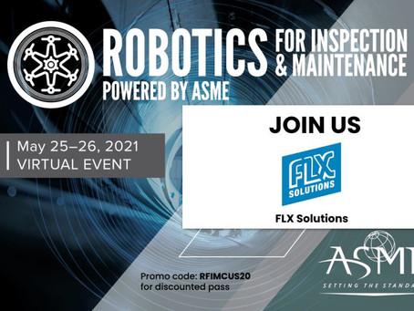 ASME Robotic Inspection & Maintenance Virtual Event