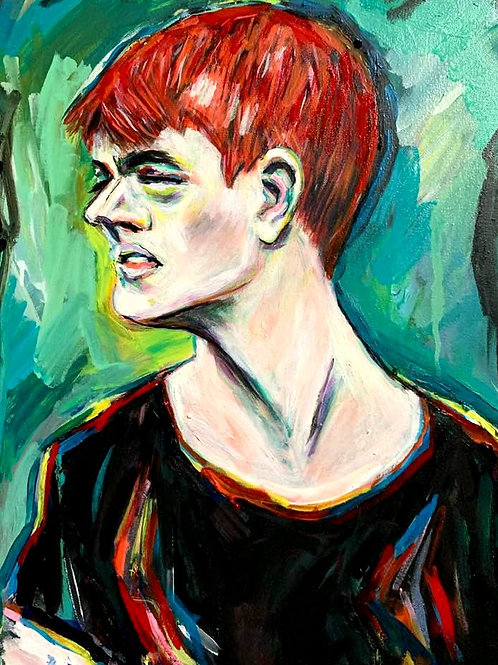 Boy with Red Hair