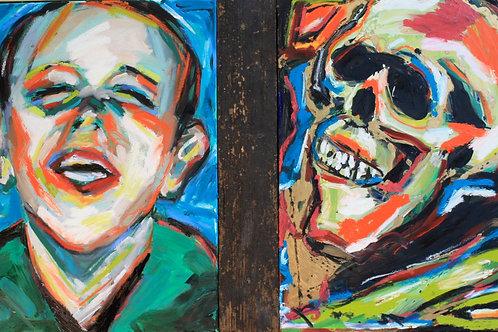 Happy/ Skull