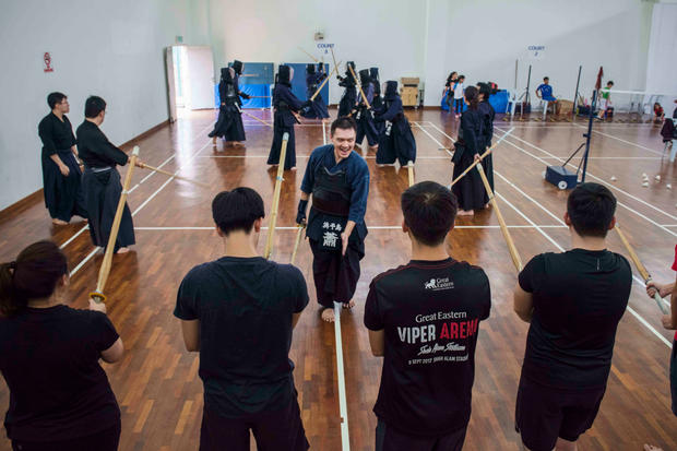 Hamachidori's Kendo Trial Class, July 2019