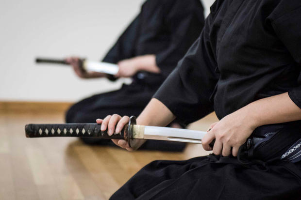 Iaido at Hamachidori Dojo