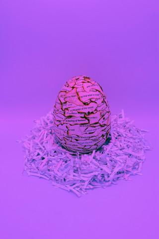 Poetry Egg, Margaret Viboolsittiseri, 2021