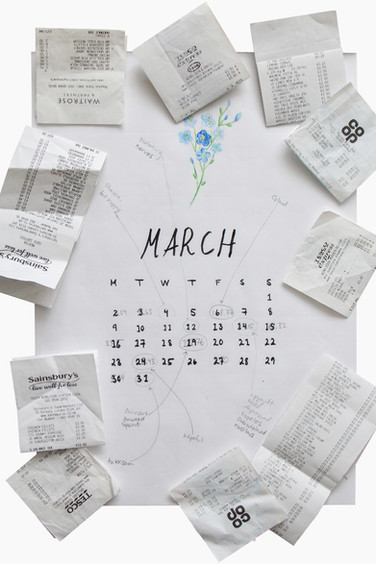 from 'Day? Year: March', Silje Ree, 2020