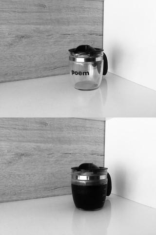 (coffee) poem, Andrés Felipe Üribe Cárdenas, 2019