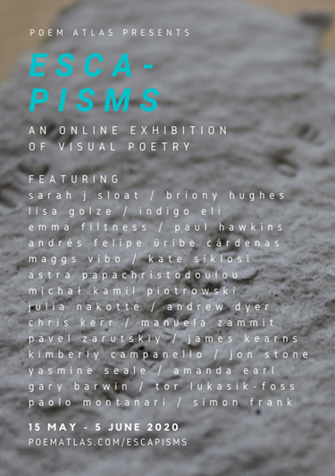 Poem Atlas - Escapism poster for Twitter
