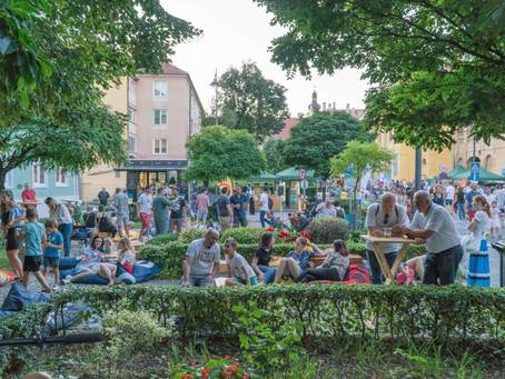 Sibiul găzduiește în acest weekend Festivalul Street Delivery, dedicat creșterii calității vieții