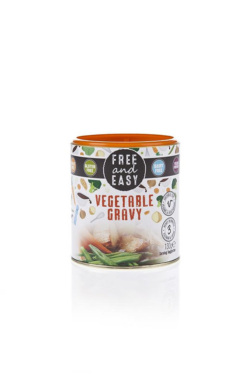 Free & Easy Gluten free Gravy sauce mix