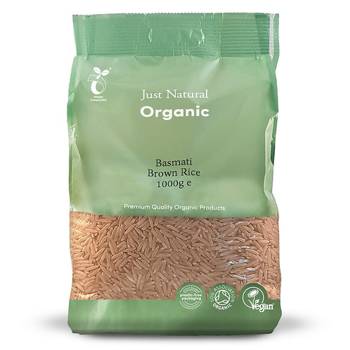 Organic Basmati Brown Rice