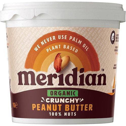 Organic Crunchy Peanut Butter 100%