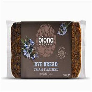 15% OFF Organic Rye Bread with Chia & Flax Seed