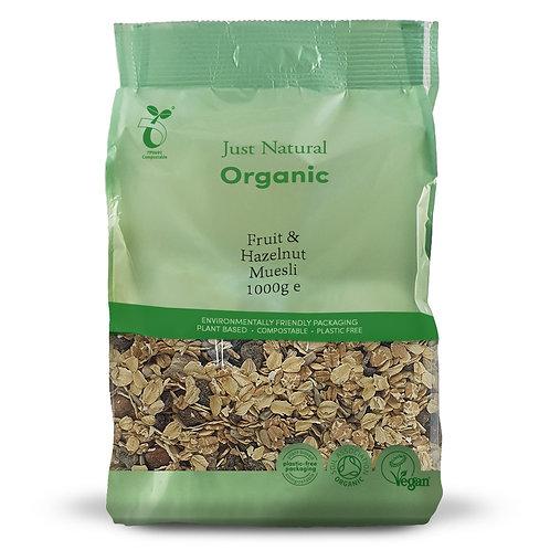 Organic Fruit & Hazelnut Muesli