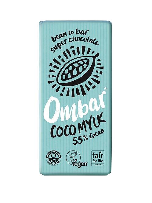 Ombar Coco Mylk 70g, organic and vegan