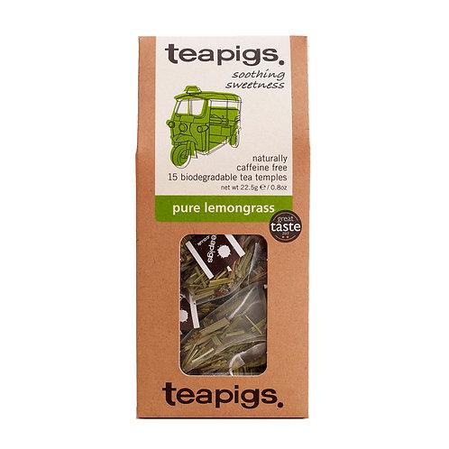 Pure lemongrass, 15 tea temples