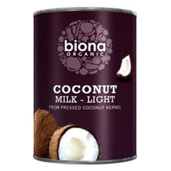 Coconut Milk - Light 9% fat Organic