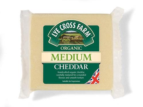 10% OFF Organic Medium Cheddar
