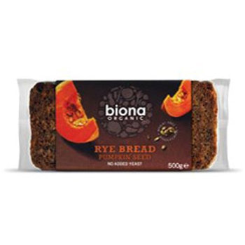 15% OFF Organic Rye Bread with Pumpkin