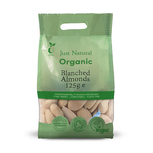 Organic Almonds Blanched