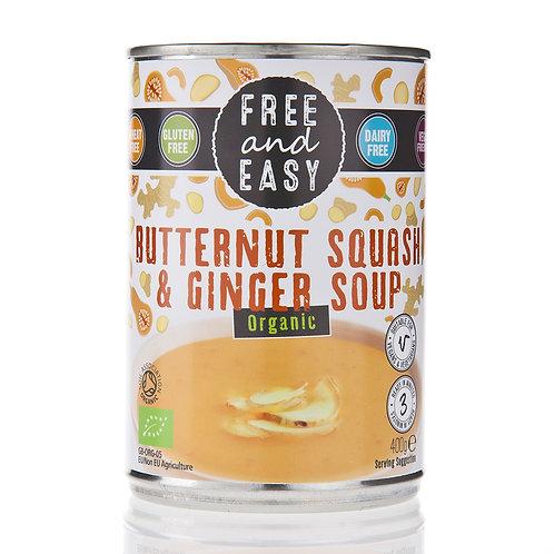 Organic Butternut Squash & Ginger Soup
