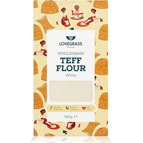 Wholegrain White Teff Flour