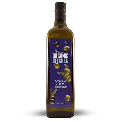 Organic Extra Virgin Olive Oil 1000ml