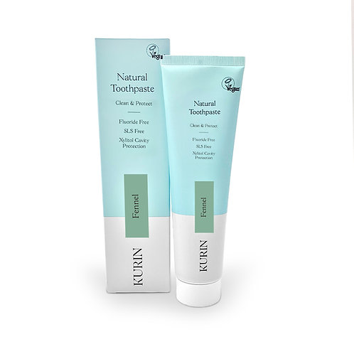 Fluoride Free Natural Toothpaste - Fennel