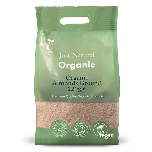 Organic Almonds Ground