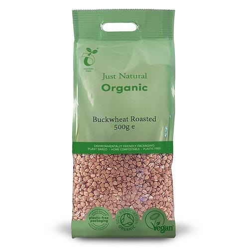 Organic Buckwheat Roasted