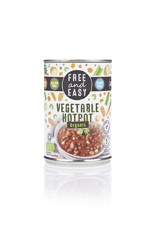 Organic Vegetable Hotpot Ready Meal