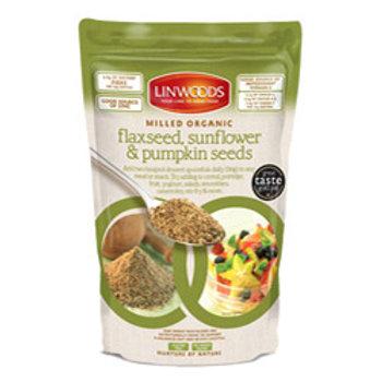 Organic Milled Flax, Sunf & Pump mix