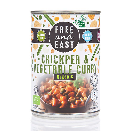 Organic Chick Pea & Vegetable Curry