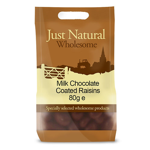 Milk Chocolate Coated Raisins