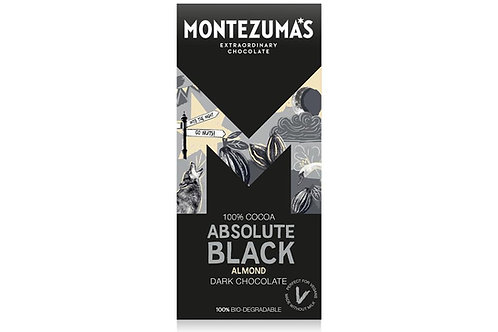 15% OFF Absolute Black 100% Cocoa with Almonds