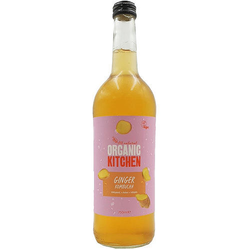 Organic Kombucha Ginger 750ml
