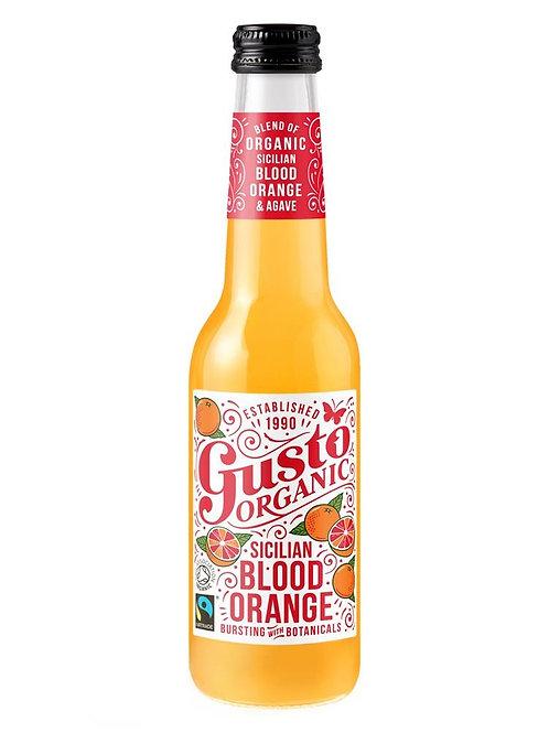 Gusto Organic Fairtrade Sparkling Sicilian Blood Orange