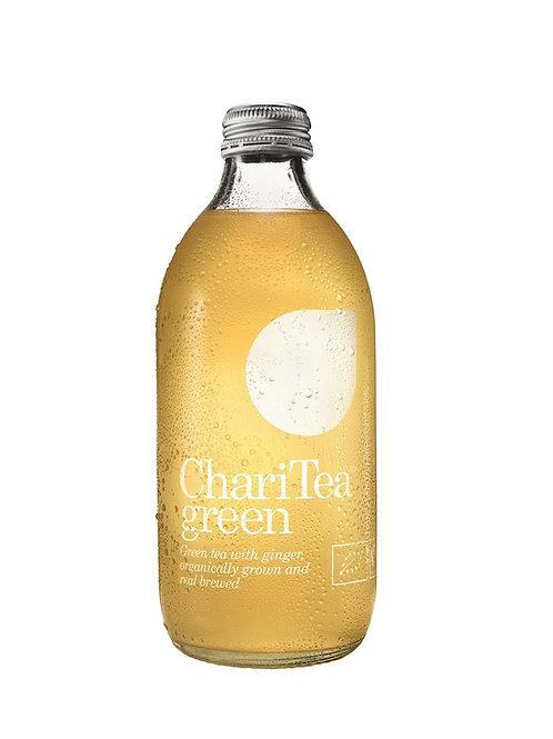 Green Organic Fairtrade Iced Tea with Ginger