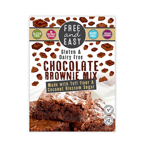Gluten and Dairy Free Chocolate Brownie Mix