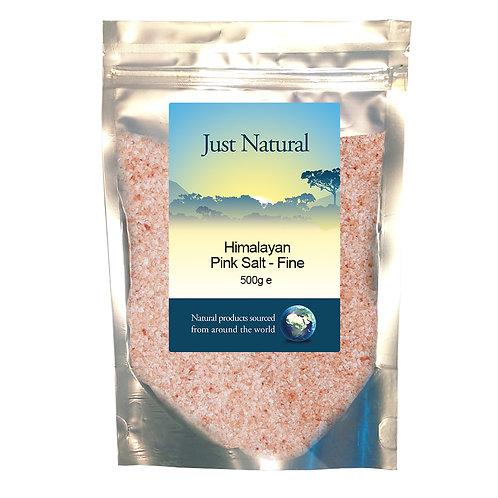 Himalayan Rose Pink Salt - Fine