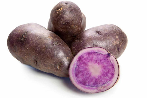 Potato Sweet Purple (Organic)