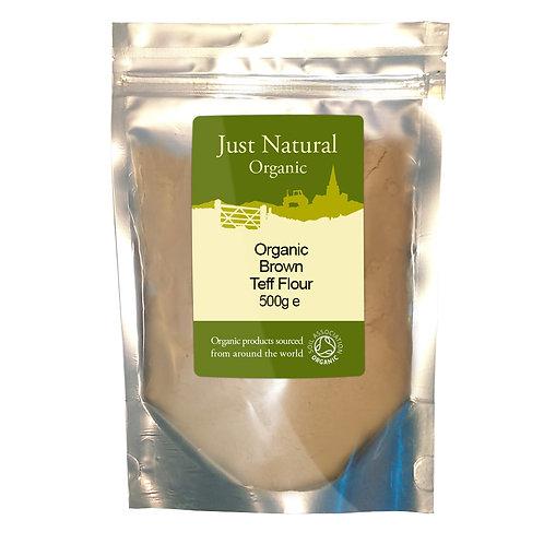 Organic Teff Flour - Brown