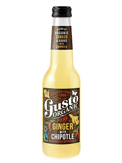 Gusto Organic Fairtrade Fiery Ginger with Chipotle