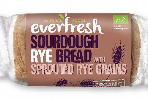 Organic Rye Sourdough Bread