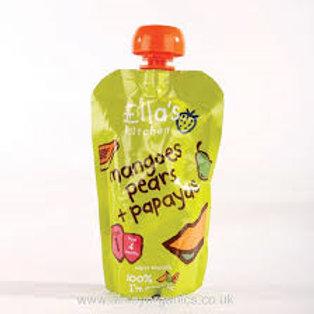 Mangoes Pears & Papaya