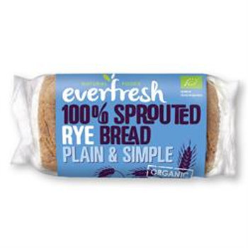 Organic Sprouted Rye Bread