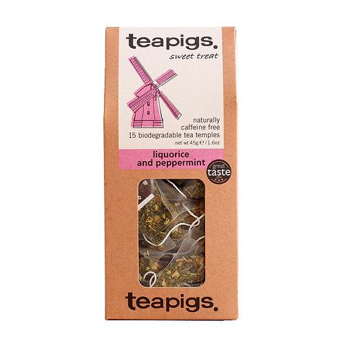 Liquorice & mint 15 tea temples